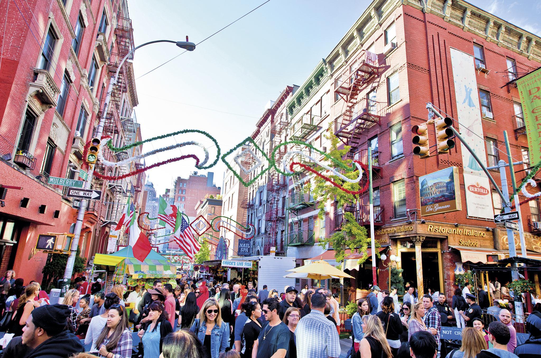 FESTIVAL DE SAN GENNARO EN NUEVA YORK