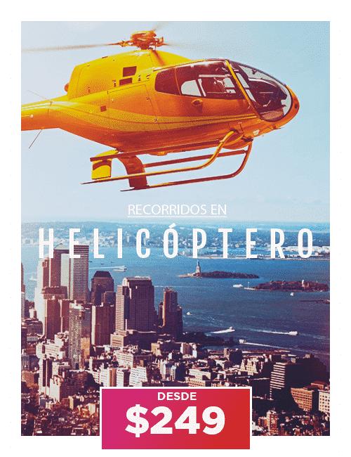 HELICOPTERO nueva york