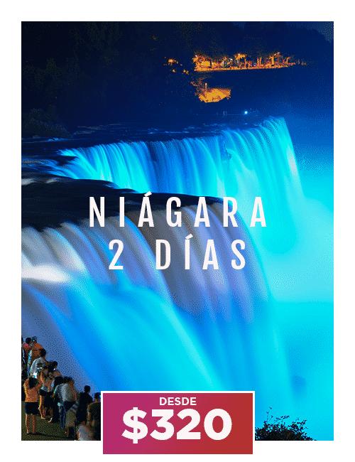 tour niagara 2 dias