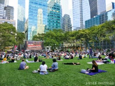 Cine al aire libre Nueva York