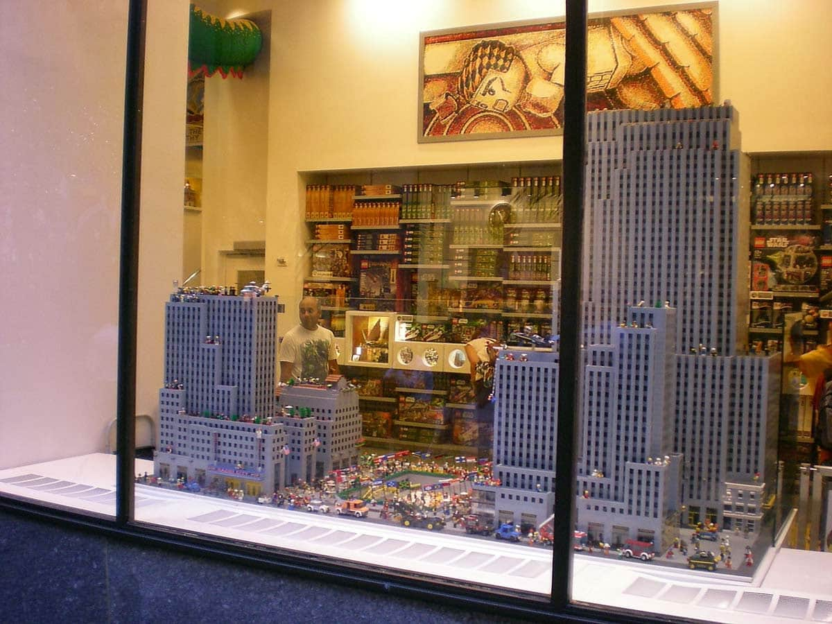 Lego Rockefeller Center Nueva York