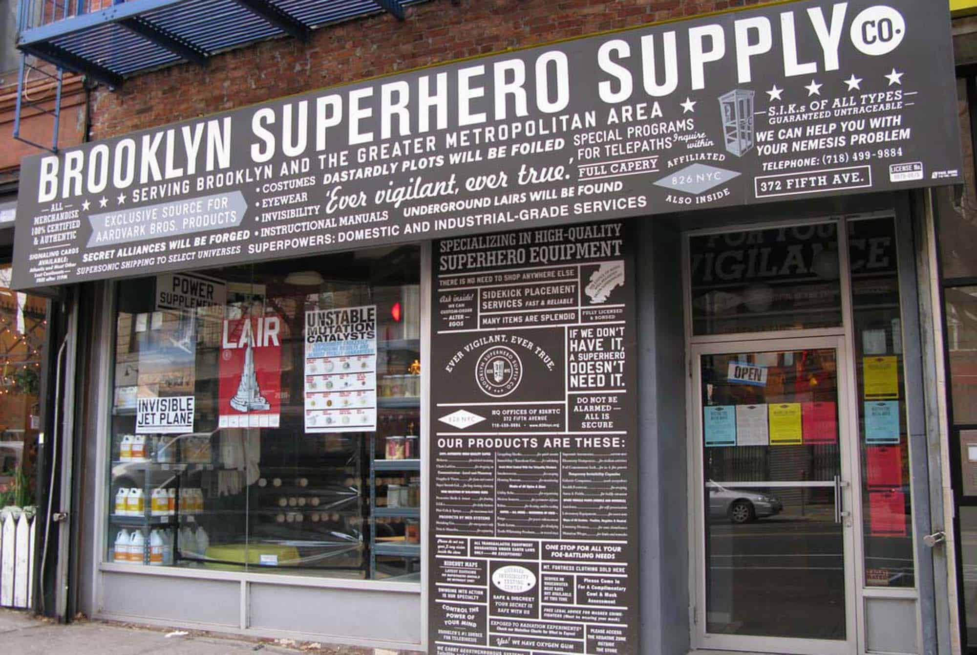 Superhero Supply Company