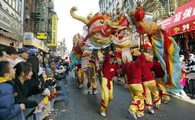 Año nuevo chino en Nueva York