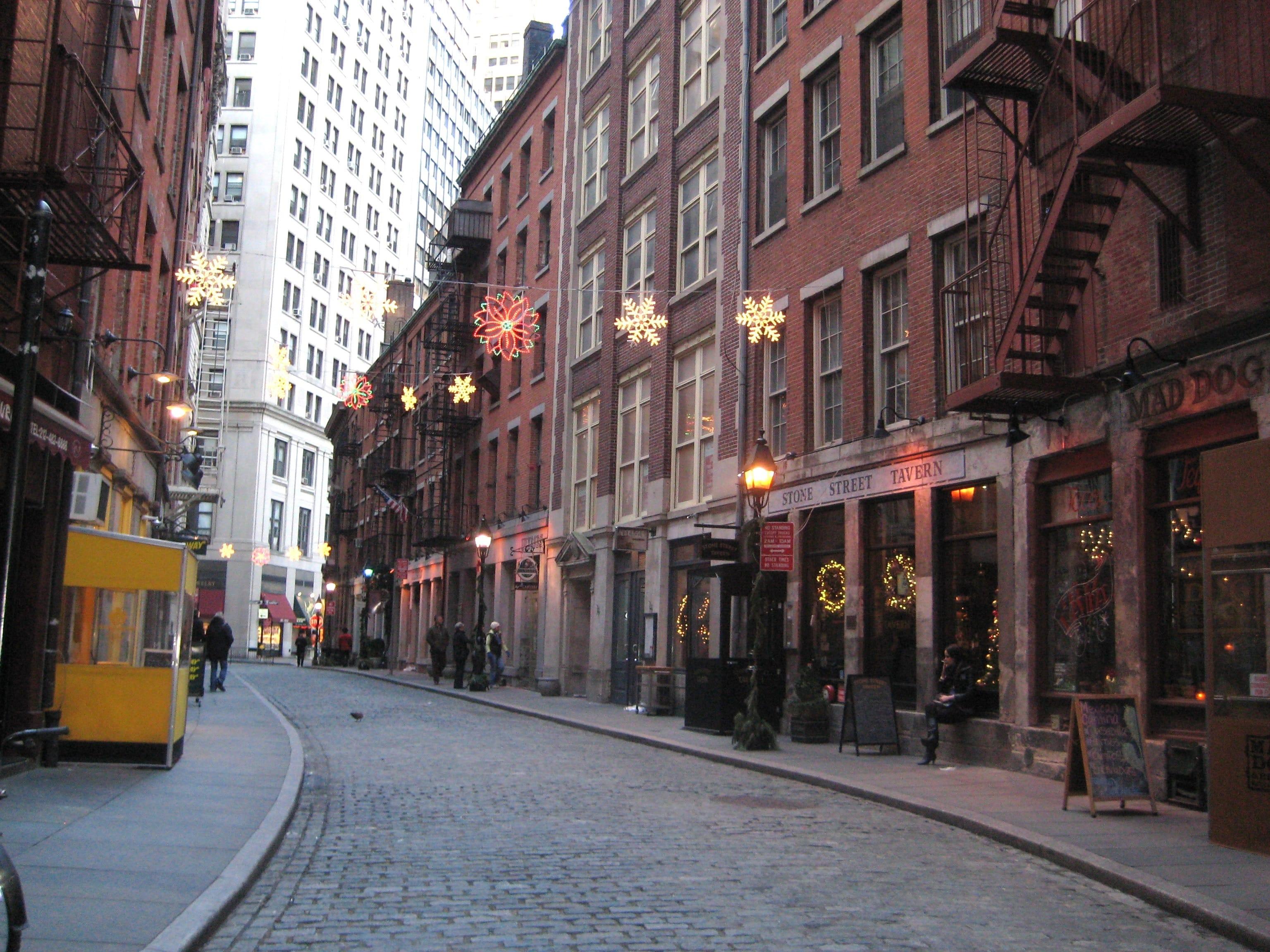 Stone Street - Nueva York
