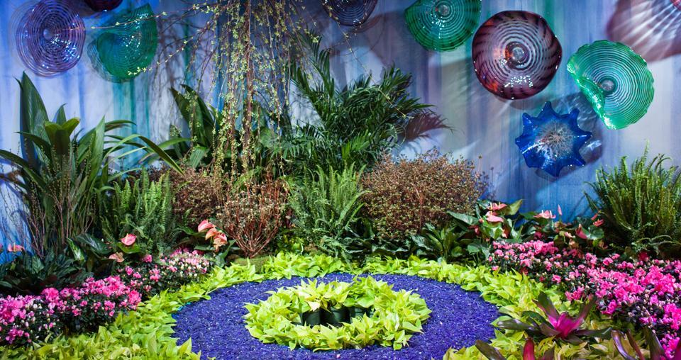 Show de flores en Macy's