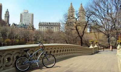 Bicicleta por Central Park