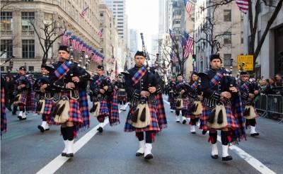 Desfile del Día del Tartán en Nueva York