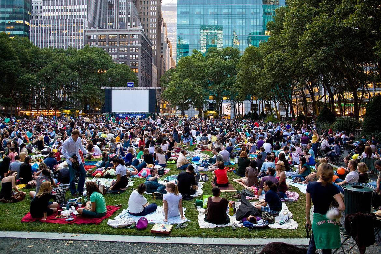 Festival de cine en Bryant Park
