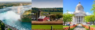 Cataratas del Niágara, Filadelfia, Washington DC y Condado Amish.