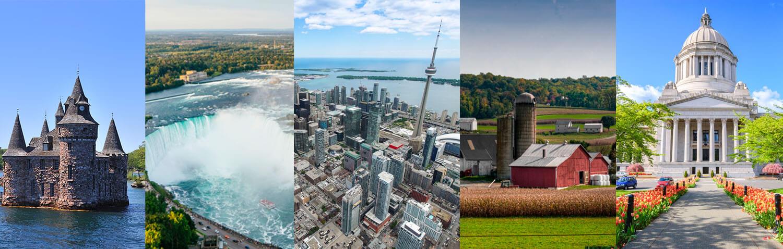 Cataratas del Niágara, Toronto, 1000 islas, Filadelfia, Washington DC y el Condado Amish