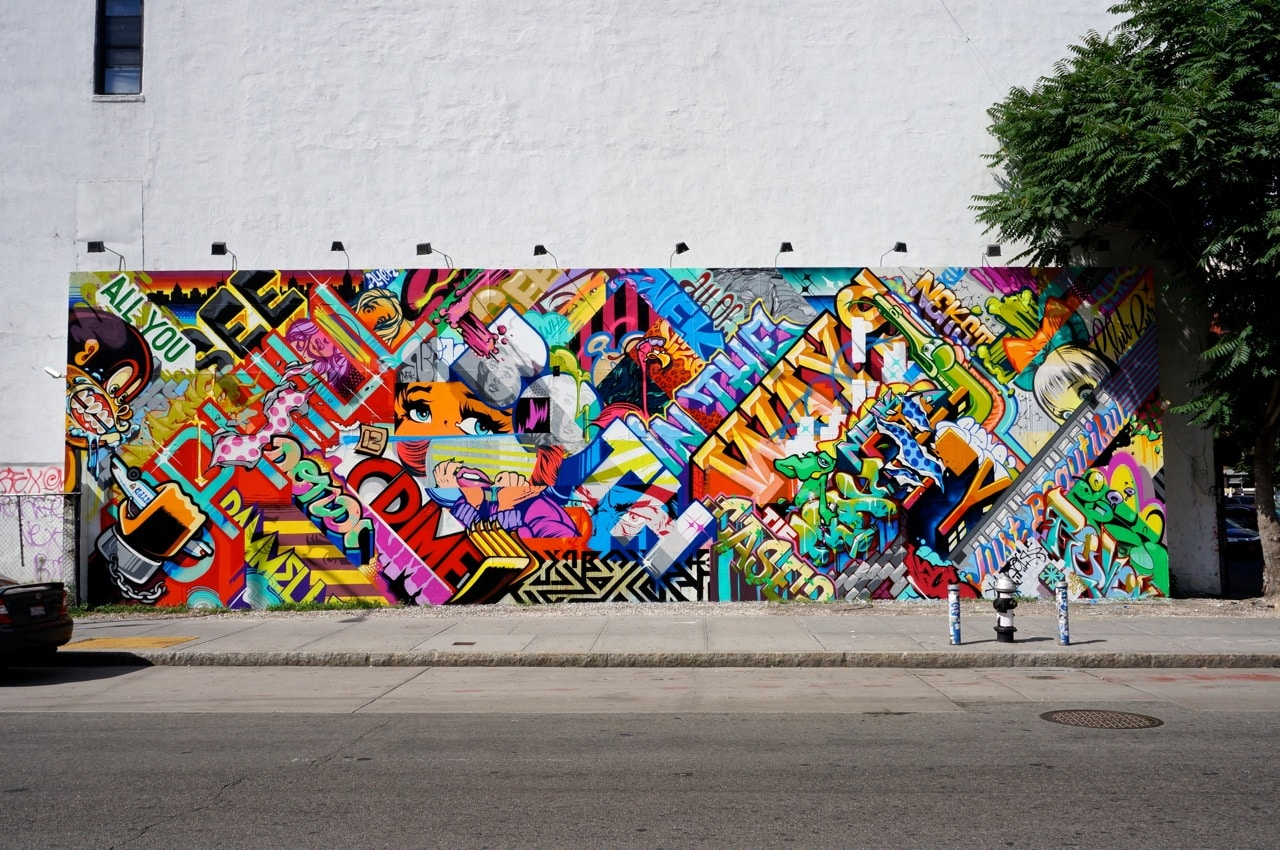 Bowery Street con Houston Street