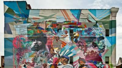 Murales en Filadelfia