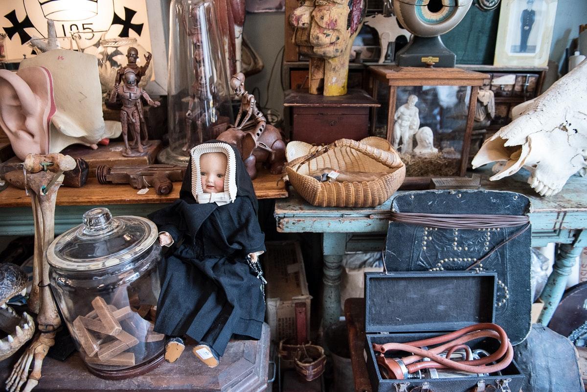 Tiendas de antigüedades de Nueva York